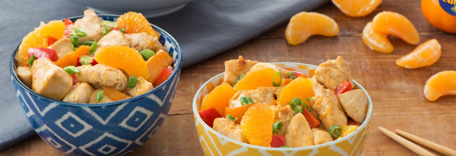 Asian Cuties® Clementine Chicken with Ginger Stir-Fry