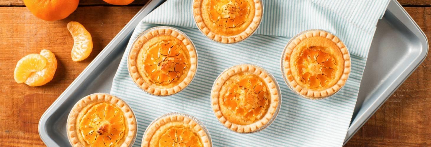 Cuties® Clementine Frangipane Brûlée Tarts